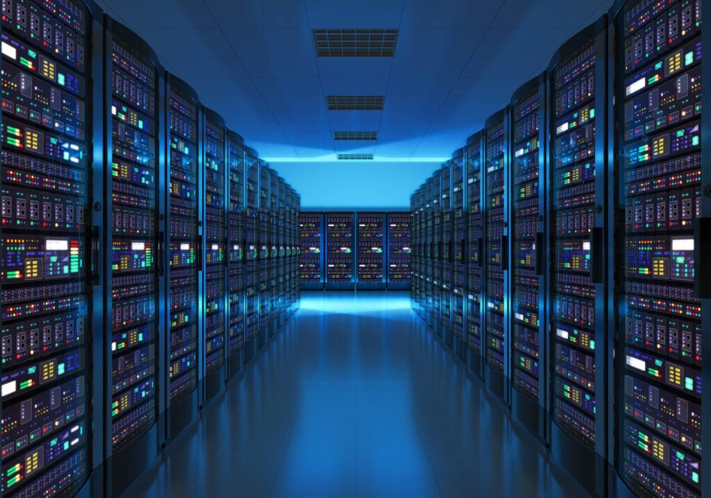 mitsn webhosting hosting - bigstock Server room interior in datace 96985121 1024x717 - MITSN Hostingsactie – 50% korting