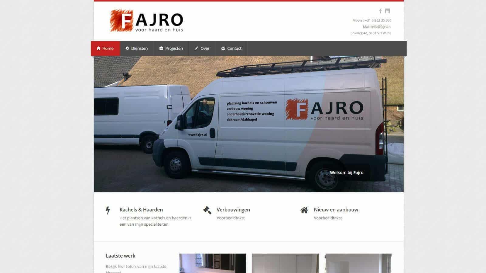 - fajro - Websites