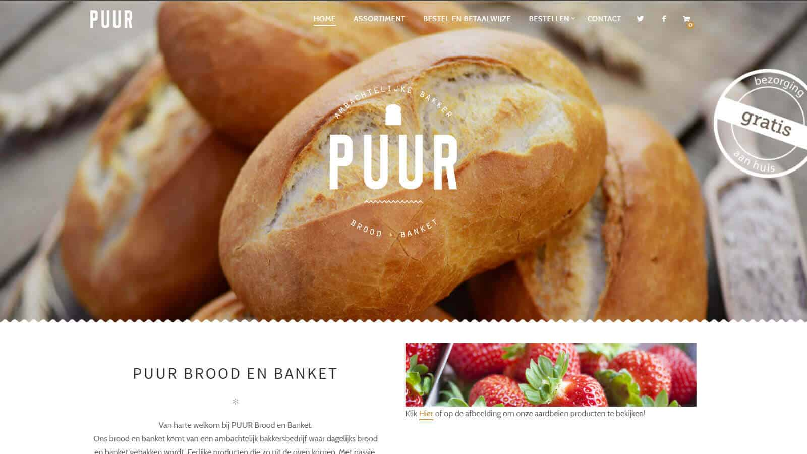 website puur puur brood en banket - puur - Puur Brood en Banket
