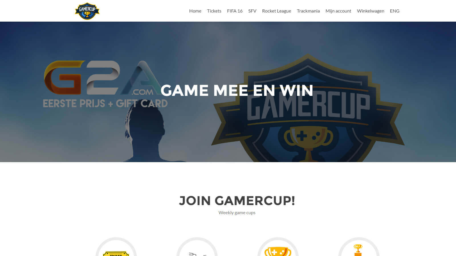 - gamercup - Websites