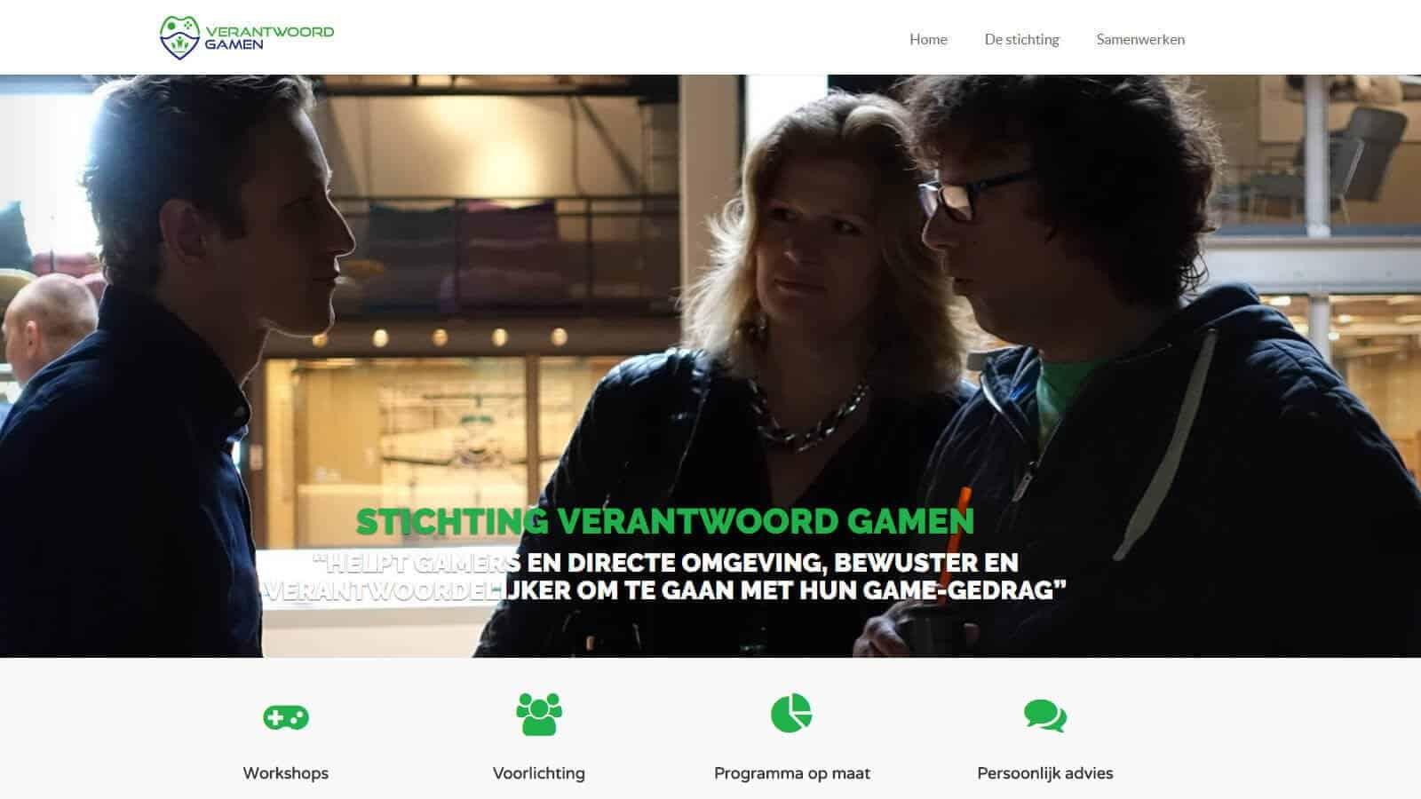 verantwoord gamen website  - verantwoord gamen - Websites