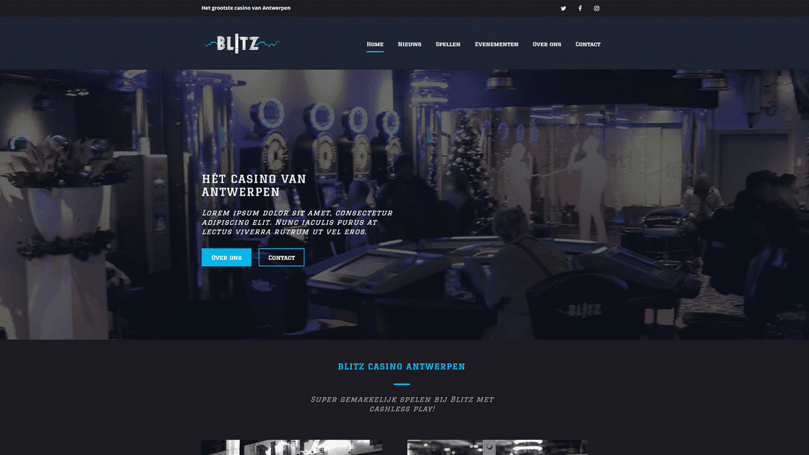 Blitz webite  - blitz - Websites