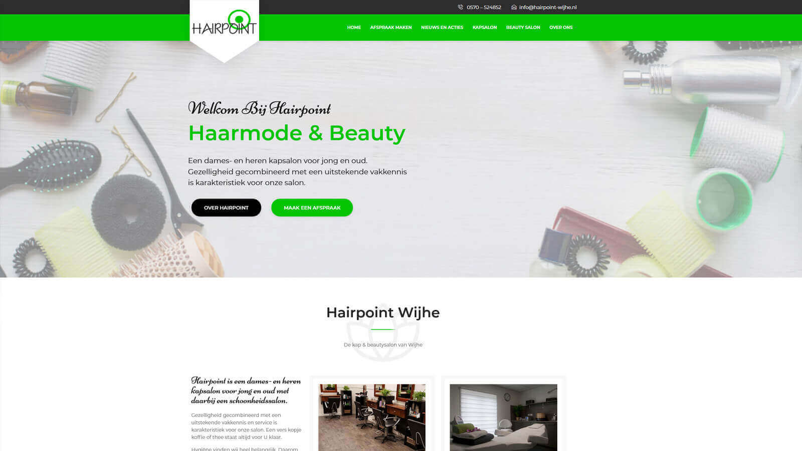 mitsn - hairpoint - Homepage