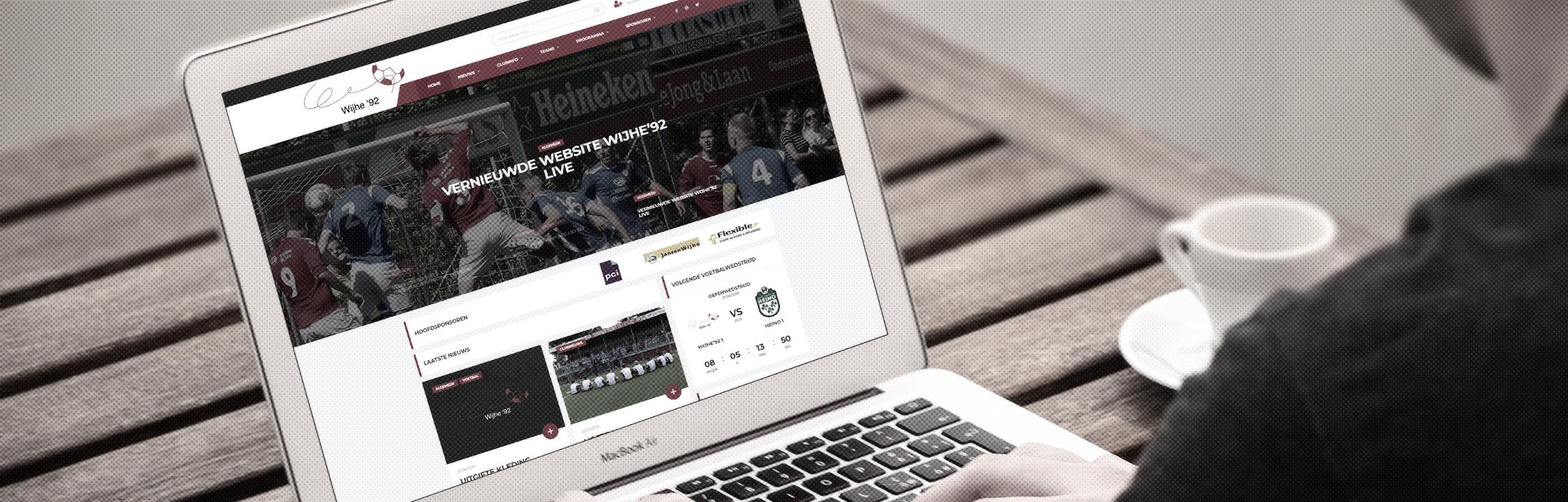 Nieuwe website Wijhe'92