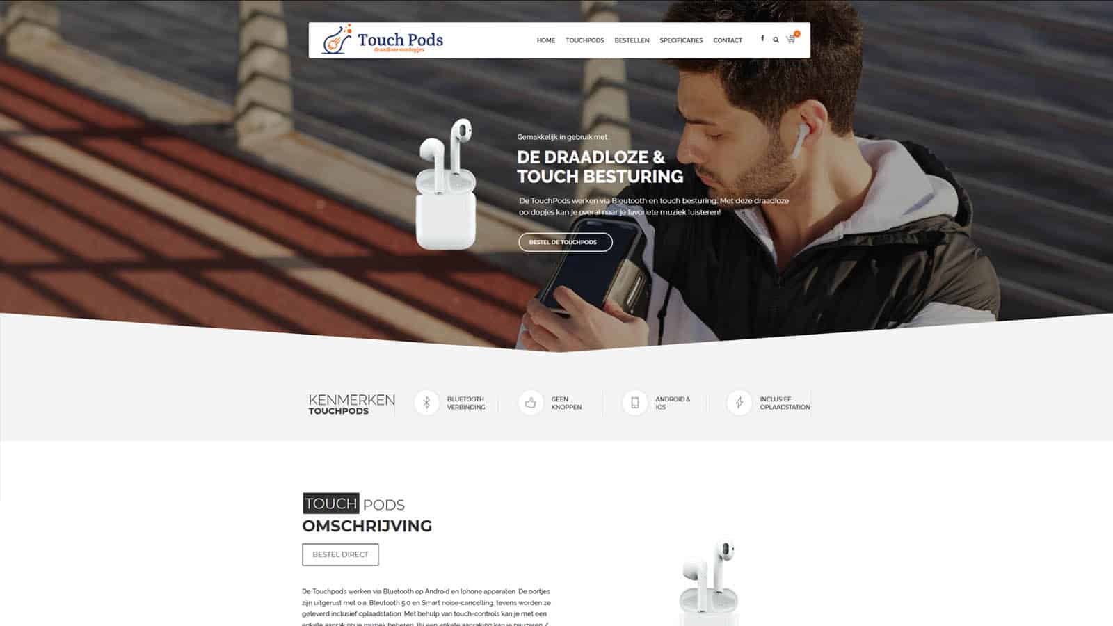 - touchpods - Websites