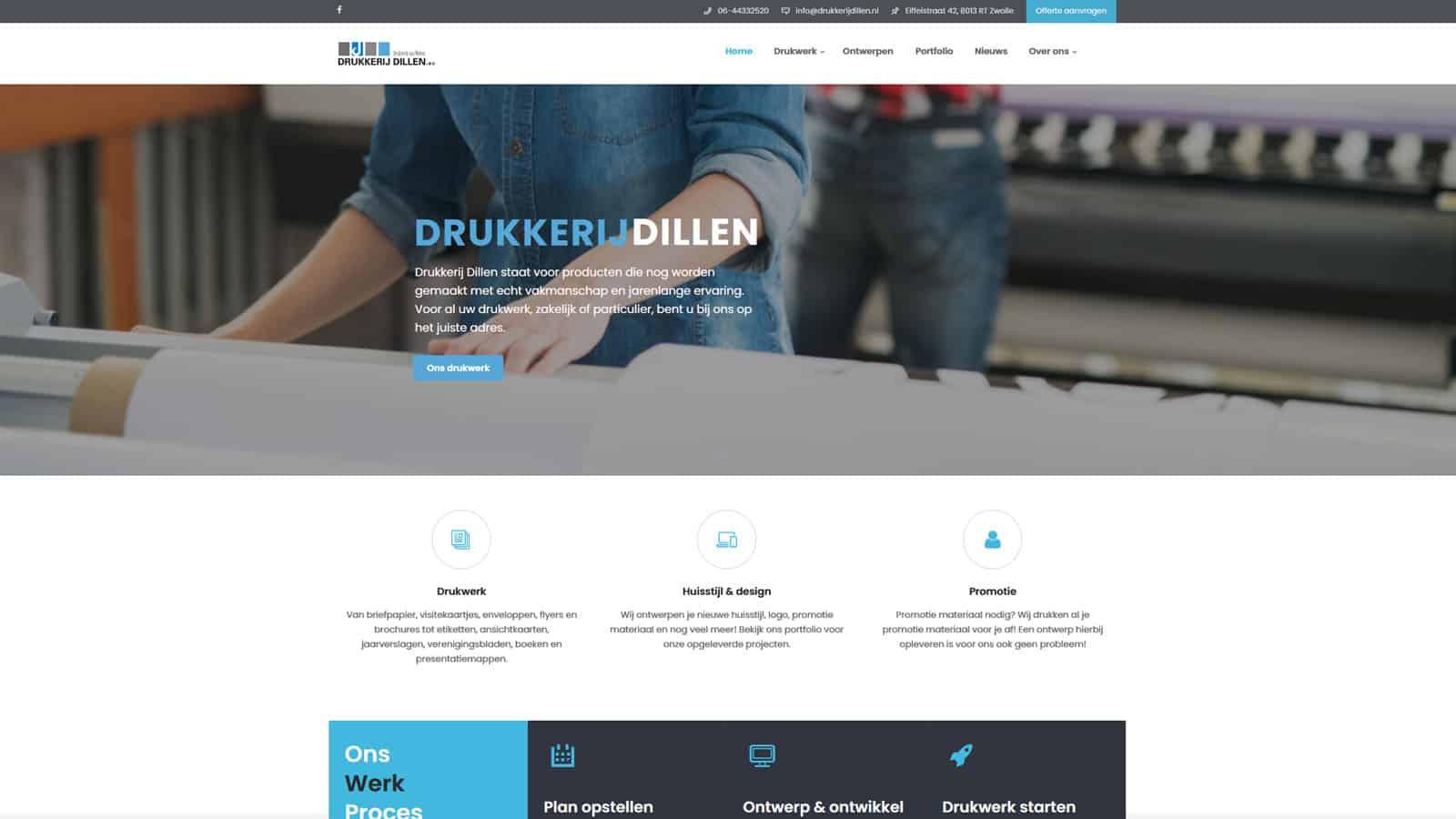 - dillen - Websites